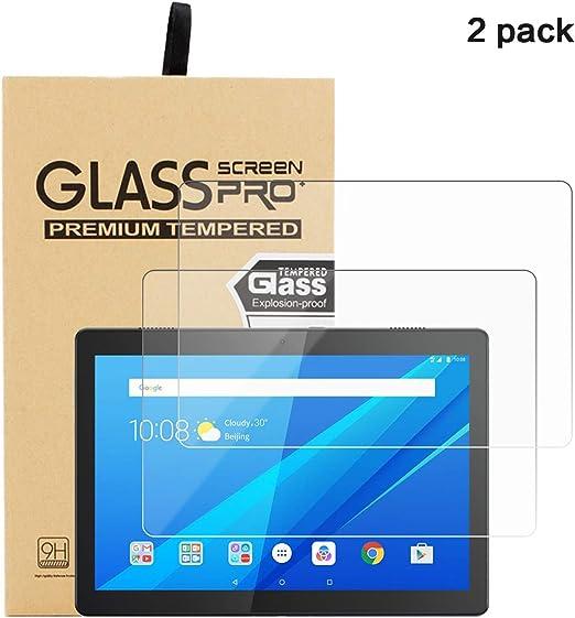 FindaGift Pantalla Protectora para 2 Pack Lenovo Tab M10 10.1 (TB ...