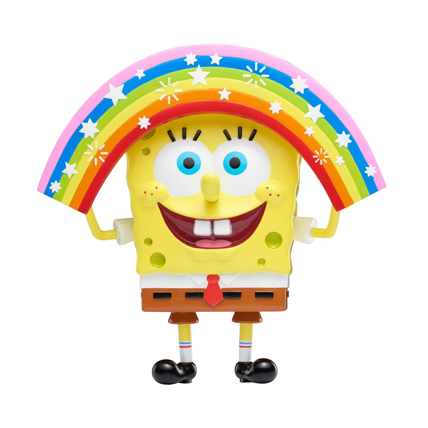 Amazon com spongebob squarepants masterpiece memes 8 collectible vinyl figure imaginaaation spongebob toys games