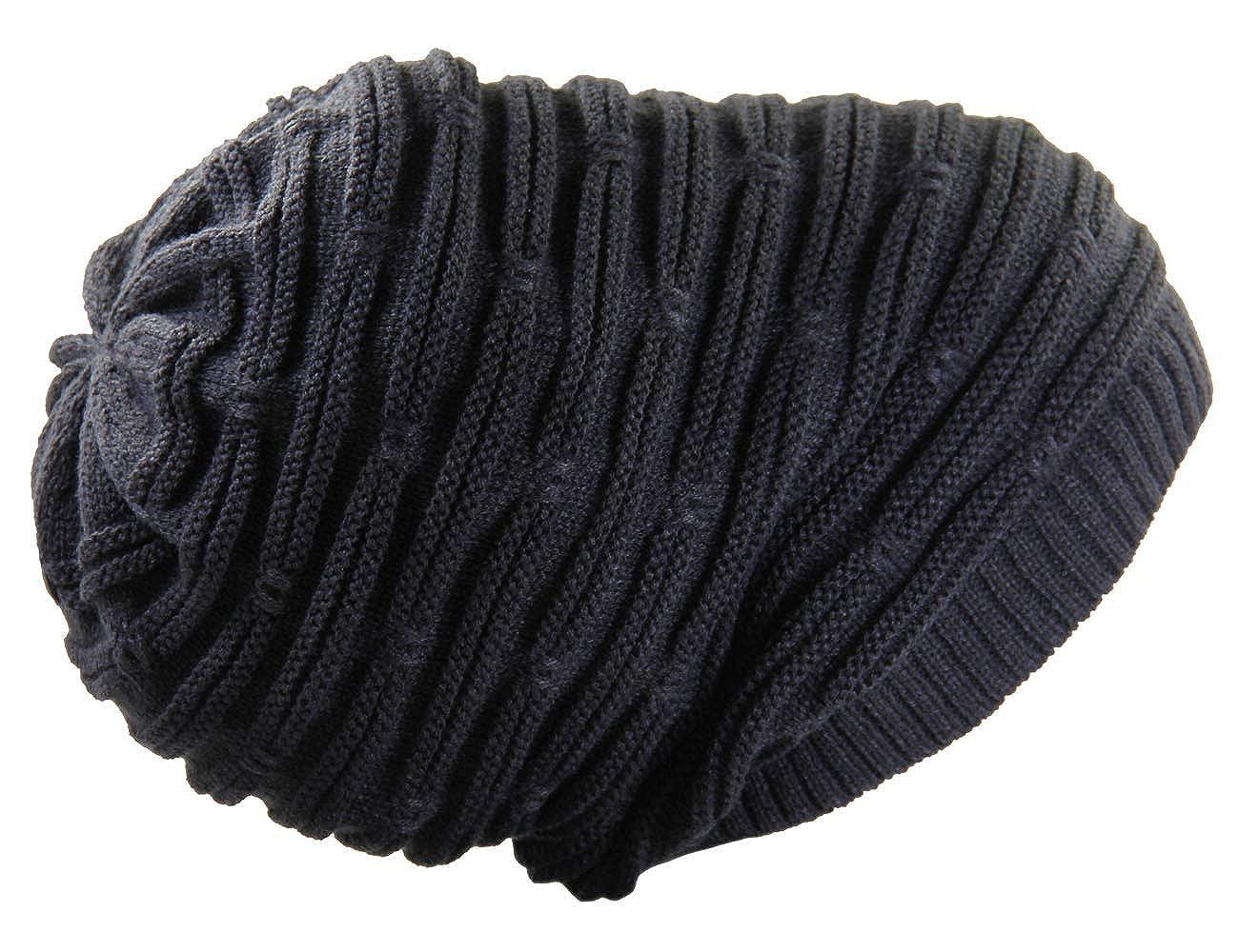 RW Rasta Stretch Long Beanie Hats