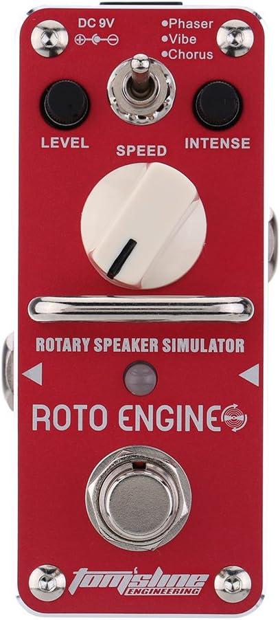 Are-3 Roto Engine Rotary Speaker Simulator Mini Pedal de Efecto de Guitarra eléctrica con True Bypass
