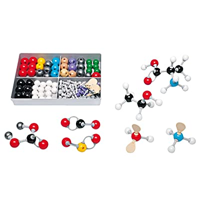 Molymod MMS-009 Inorganic/Organic Chemistry Molecular Model, Student Set (52 atom parts): Spiring Enterprises Limited: Industrial & Scientific