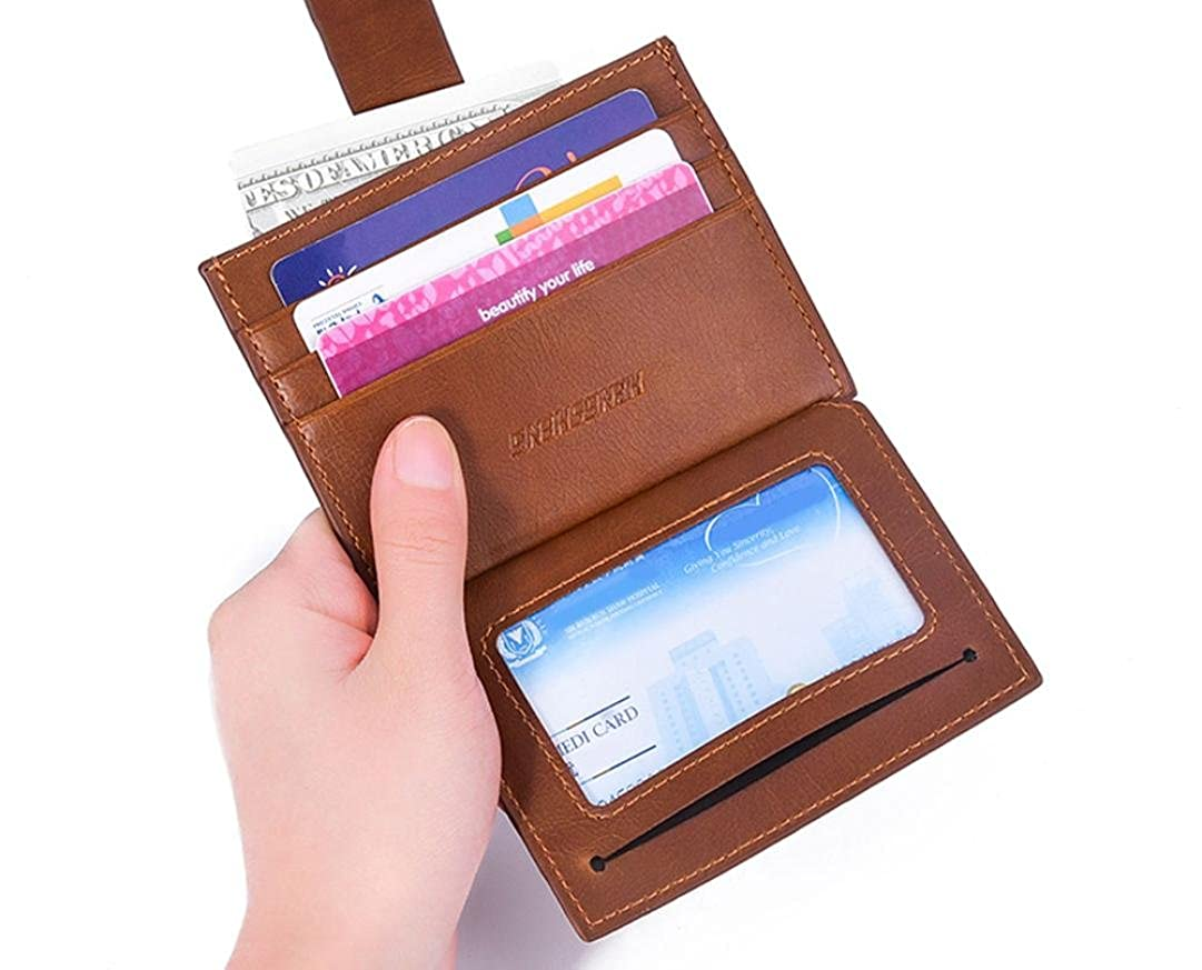 TONSEE Slim Wallet RFID Front Pocket Wallet Minimalist Secure Thin Credit Card Holder