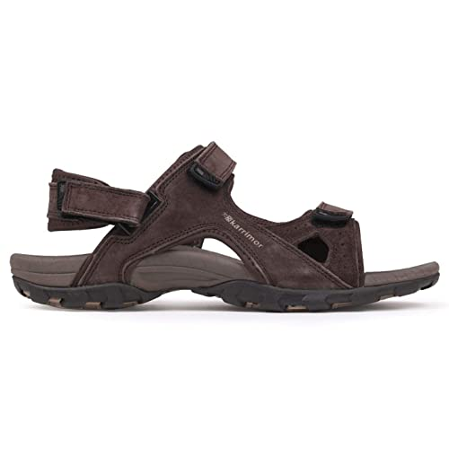 23b31a06f727 Karrimor Mens Antibes Leather Walking Sandals Sport Hiking Summer ...