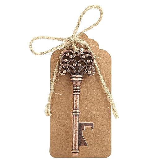 Abridores de botellas clave, 12pcs Surtido Vintage Llaves de ...