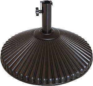 Abba Patio 50lb Patio Umbrella Base Water Filled 23