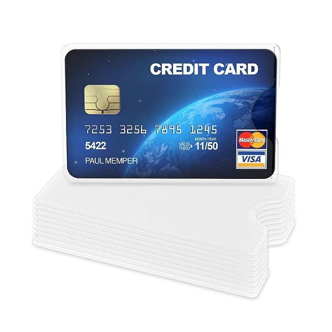 Amazon.com: kwmobile - Fundas para tarjetas de crédito (10 ...