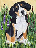 Caroline's Treasures SS8216CHF Entlebucher Mountain Dog Flag Canvas, Large, Multicolor