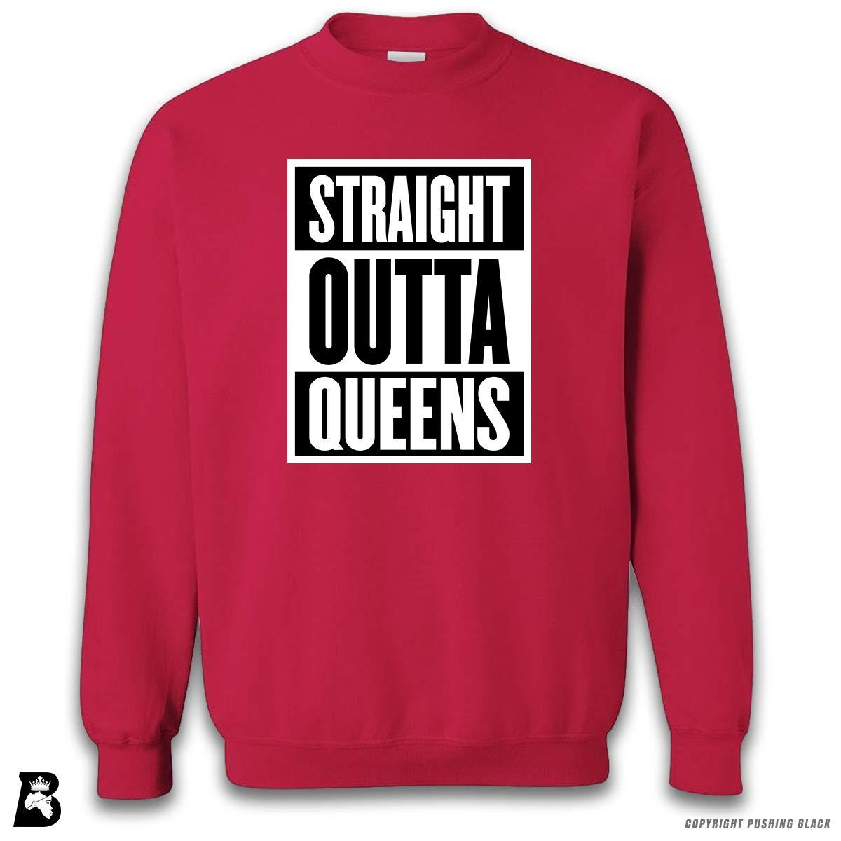 Straight Outta Queens Premium Unisex Sweatshirt