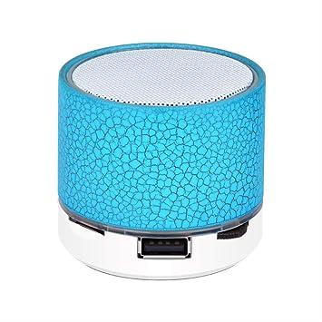 ASYPJP Altavoz Bluetooth Tarjeta De Audio De Regalo Teléfono ...