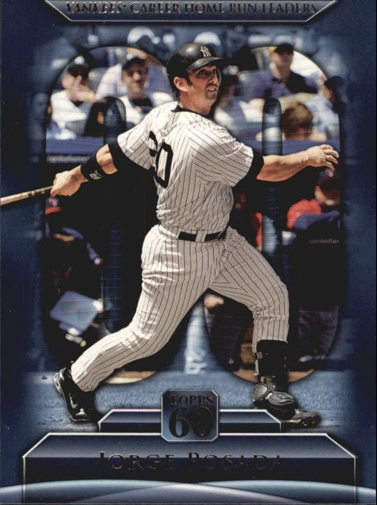 2011 Topps 60#64 Jorge Posada Baseball Card *