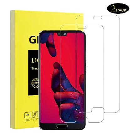 DOSMUNG Protector de Pantalla Huawei P20 Pro, [2 Piezas] [Anti-Rasguños