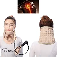 ZFAZY Cervical Neck Traction Device, Head Cervical Posture Correction Orthosis,...