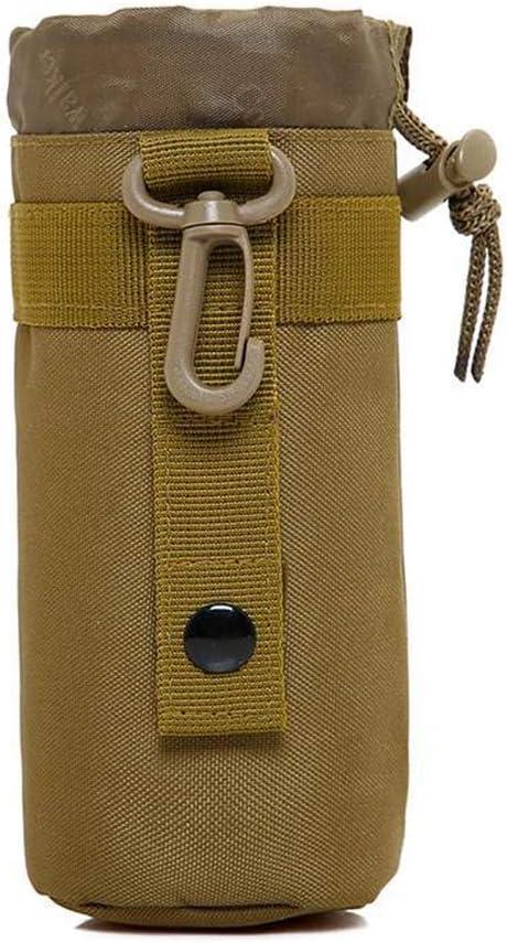 Tactical Molle Bottiglia da Acqua Portabottiglie Holder w Cintura Clip