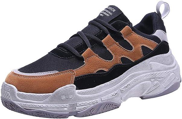 OSYARD Femmes Compensée Baskets Mode Chaussures en Cours D