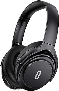 Active Noise Cancelling Headphones, TaoTronics Bluetooth Headphones [2020 Version] Over Ear Wireless Headphones 40H Playtime aptX Type-C Fast Charging Bluetooth 5.0 CVC 8.0 Mic for TV PC Cellphone