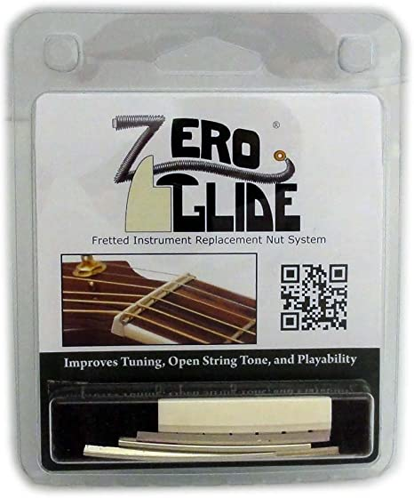 Zero Glide Slotted ZS-5 Acoustic Guitar Nut System