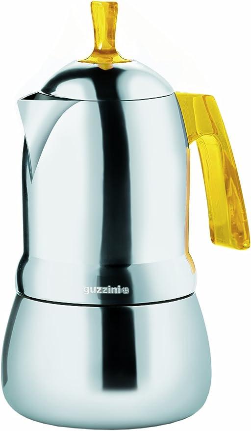 Guzzini 21390388 Cafetera 3 Tazas Art & Cafe amarilla: Amazon.es ...
