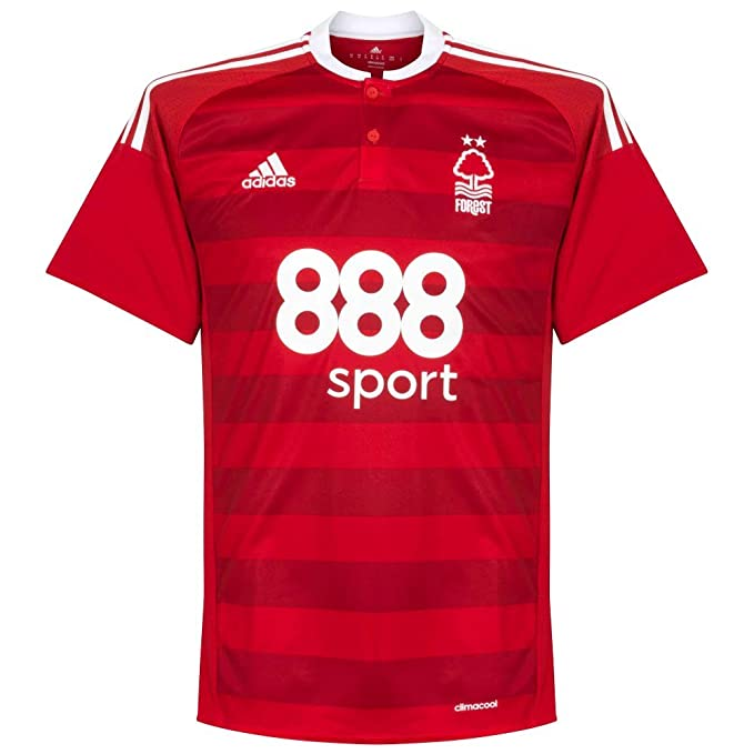adidas 2016 – 2017 Nottingham Forest Home Camiseta de fútbol