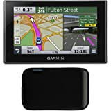 "Garmin nuvi 2599LMTHD Case Bundle Includes: nuvi 2599LMTHD Advanced Series 5"" GPS Navigation System with Bluetooth, Lifetime Maps, & HD Digital Traffic, and Garmin Nuvi 5 inch Protect, Stow and Carry Case"