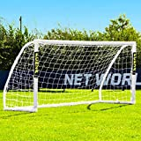 "FORZA""Match Standard"" 8' x 4' Professional Soccer Goal and Net - Portable"