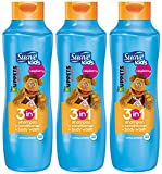 suave kids conditioner - Suave Kids 3 in 1 Shampoo Conditioner and Body Wash, Razzle Dazzle Raspberry, 22.5 Ounce (Pack of 3) Packaging May Vary
