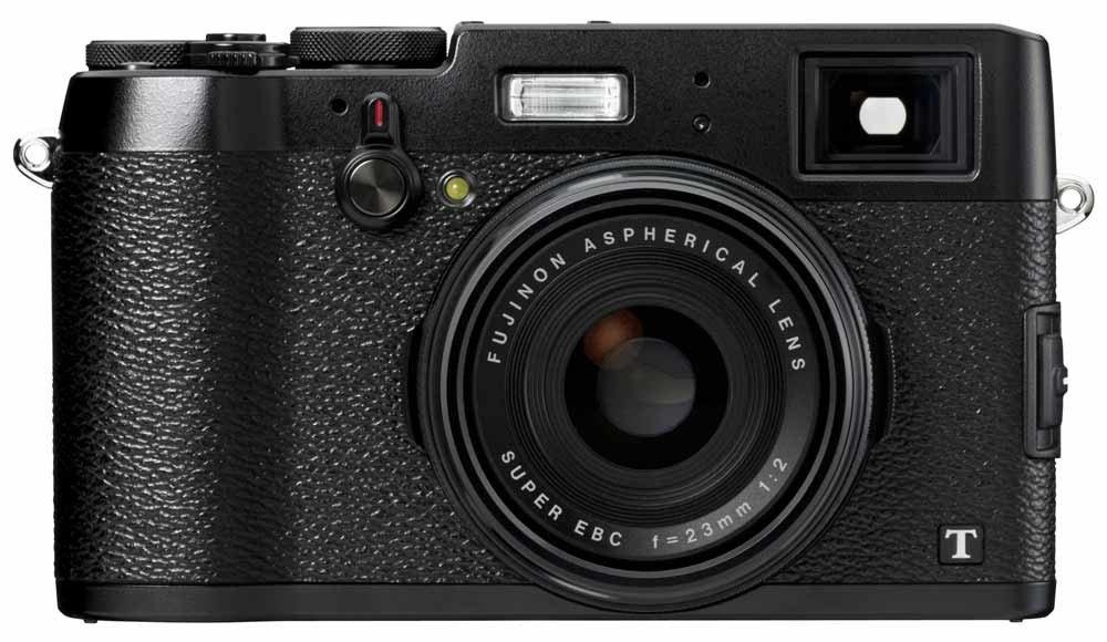 """Fujifilm X100T - Cámara compacta de 16.3 MP (sensor X-TRANS CMOS II, procesador EXR II, pantalla de 3"""", vídeo Full HD, WiFi, distancia focal fija f/2 de 23 mm), negro product image"""