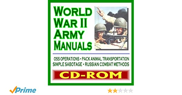 World War Ii Army Manuals And Military Documents German Army Dukw