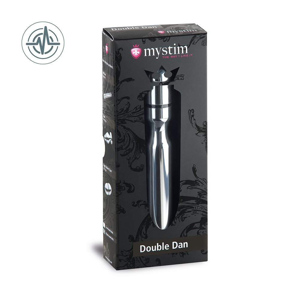 Mystim Gmbh Double Dan Anal and Vaginal Dildo by Mystim Gmbh