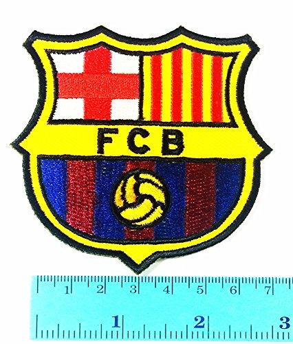 FCB Barcelona League La Liga Football Club logo Jacket T Shirt Patch Sew Iron on Embroidered Symbol Badge Cloth Sign Costume - Football Club Patch