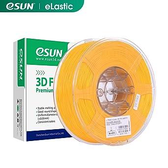 eSUN TPE Flexible Filamento de Impresora 3D, Filamento TPE 83A ...