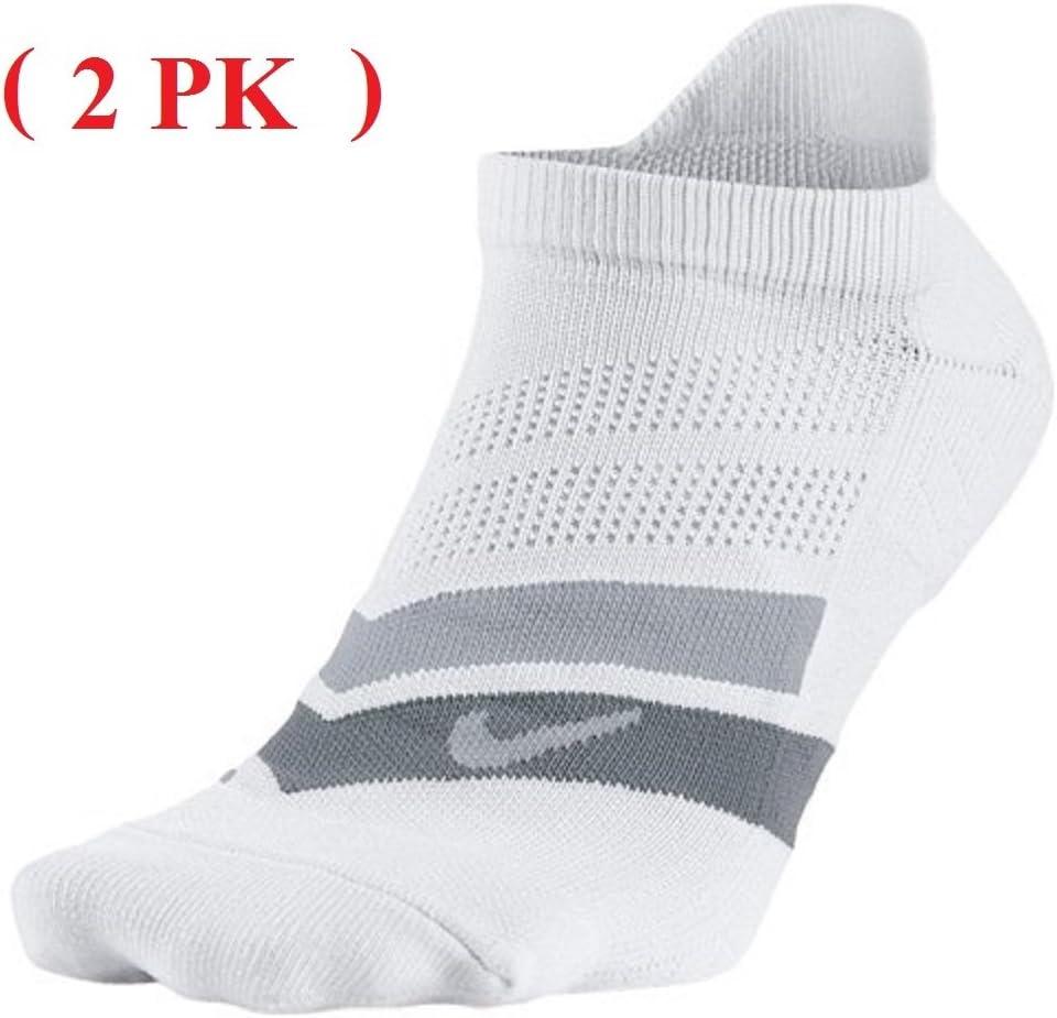 Nike Men's Performance Cushion No-Show Running Sock (2 PK)