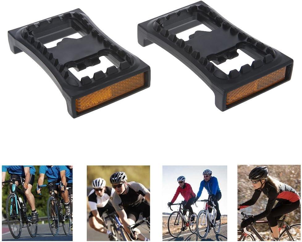 Usuario 1 par de pedales planos para bicicleta M520 M540 M780 Cleat Bike Suministros