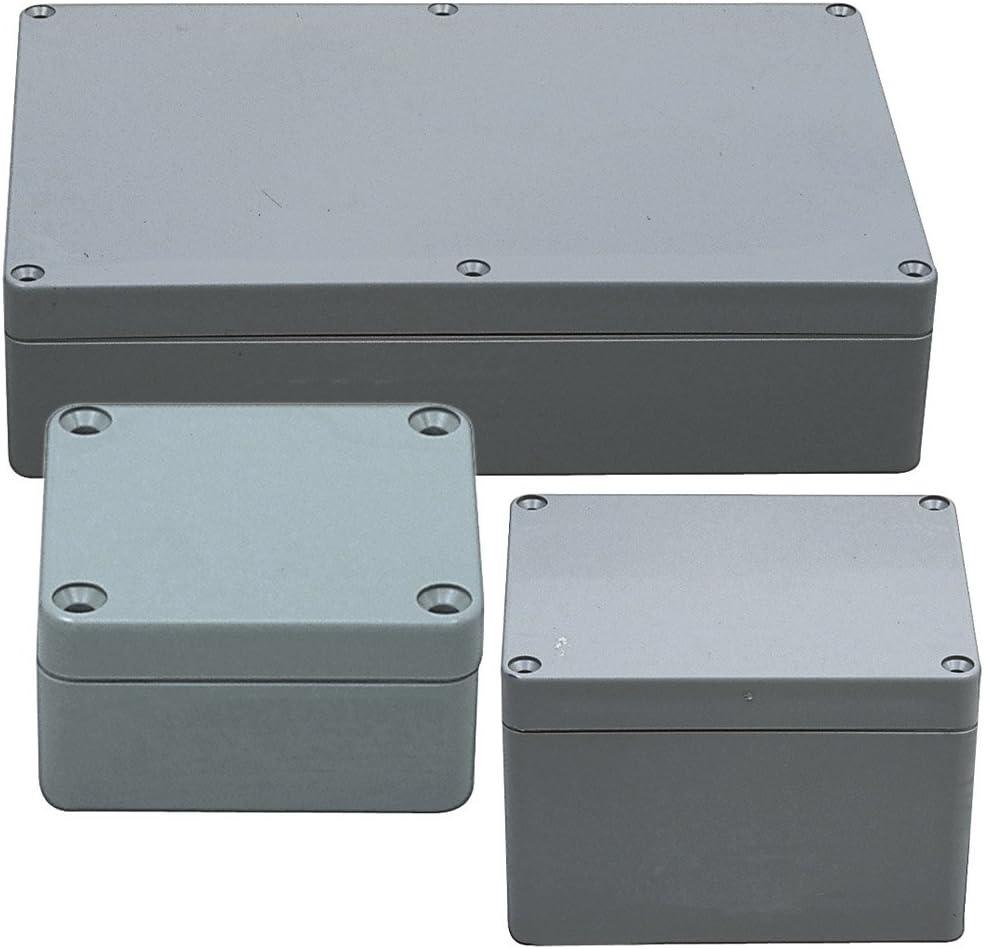 Alu Gehäuse Leergehäuse Platinen Sicherheit Elektronik Netzteil 120*69*130mm