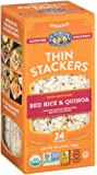 Lundberg Organic Thin Stackers Grain Cakes, Red Rice and Quinoa, 5.9 Ounce (Pack of 12)