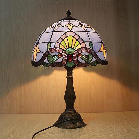 Lámpara de Tiffany estilo/Lámparas de mesita de noche de ...