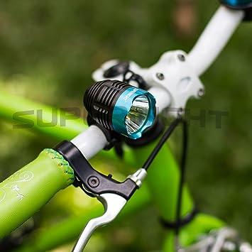 New Waterproof 1200 Lumen T6 LED MTB Bike Bicycle Light Headlamp Headlight Blue