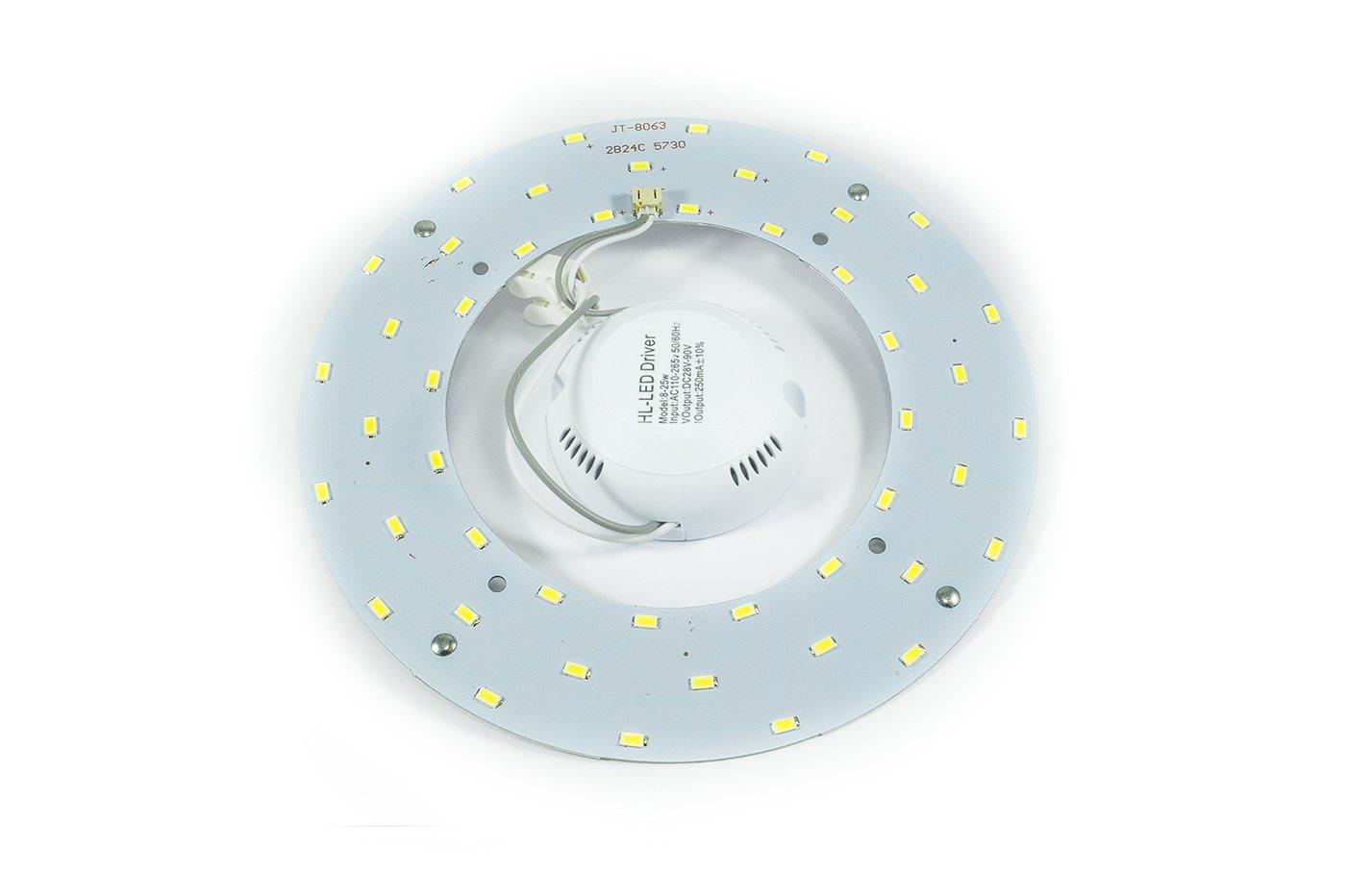 Ricambi Per Plafoniere Neon : Piastra a led circolare k luce naturale per sostituzione e