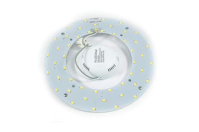 Plafoniere Tonde A Led : Piastra a led 36w circolare neon 72 sostituzione luce fredda
