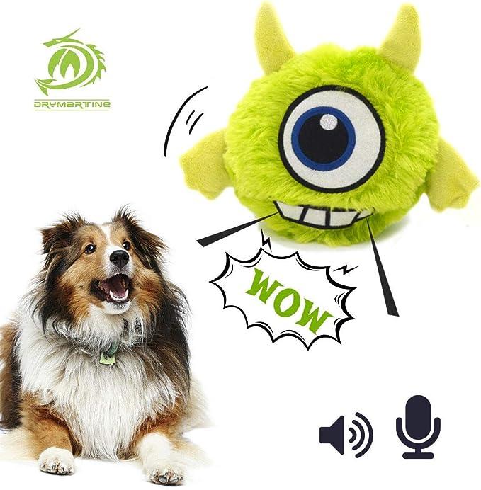 ADHBS Home Peluches interactivos para Perros, Pelotas automáticas ...
