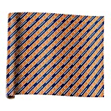 Forever Collectibles Denver Broncos Team Plane Wrapping Paper