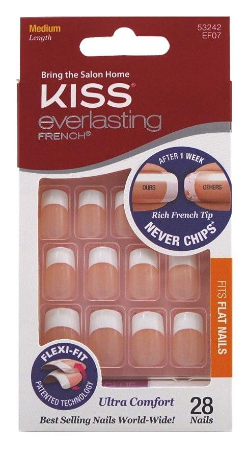 Kiss Everlasting French Nail Kit - Perpetual: Amazon.co.uk: Health ...