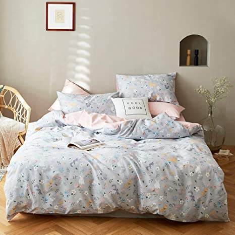 3 Pieces Queen Duvet Cover Set White 100/% Cotton,Premium Pure White Full Duvet Cover and 2 Pillow Shams,Solid White Bedding Sets Queen Zipper Closure For Kids Adults,Breathable,Soft,No Comforter
