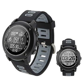 SinceY Reloj Inteligente Deportivo con brújula y GPS , Bluetooth ...