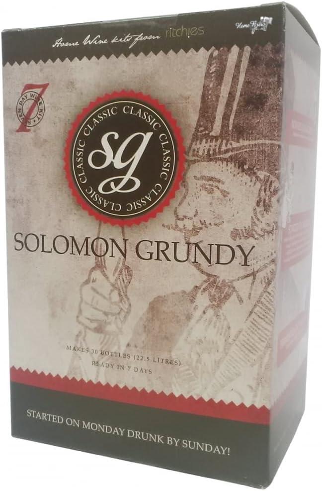Solomon Grundy Rose 30 Bottles