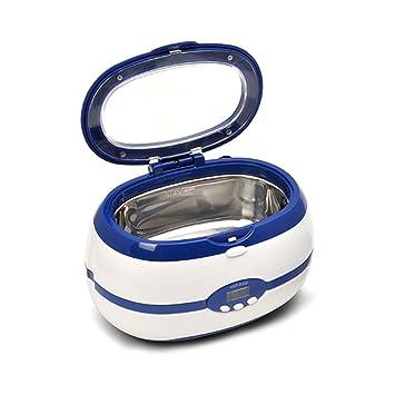 Limpiador ultrasónico Profesional limpia joyas relojes gafas esterilización acero inoxidable resistencia a la corrosión Lnner tanque
