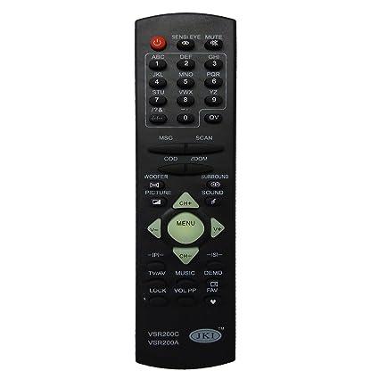Buy Tv Remote Vsr200cvsr200a Compatible With Videocon Crt Online