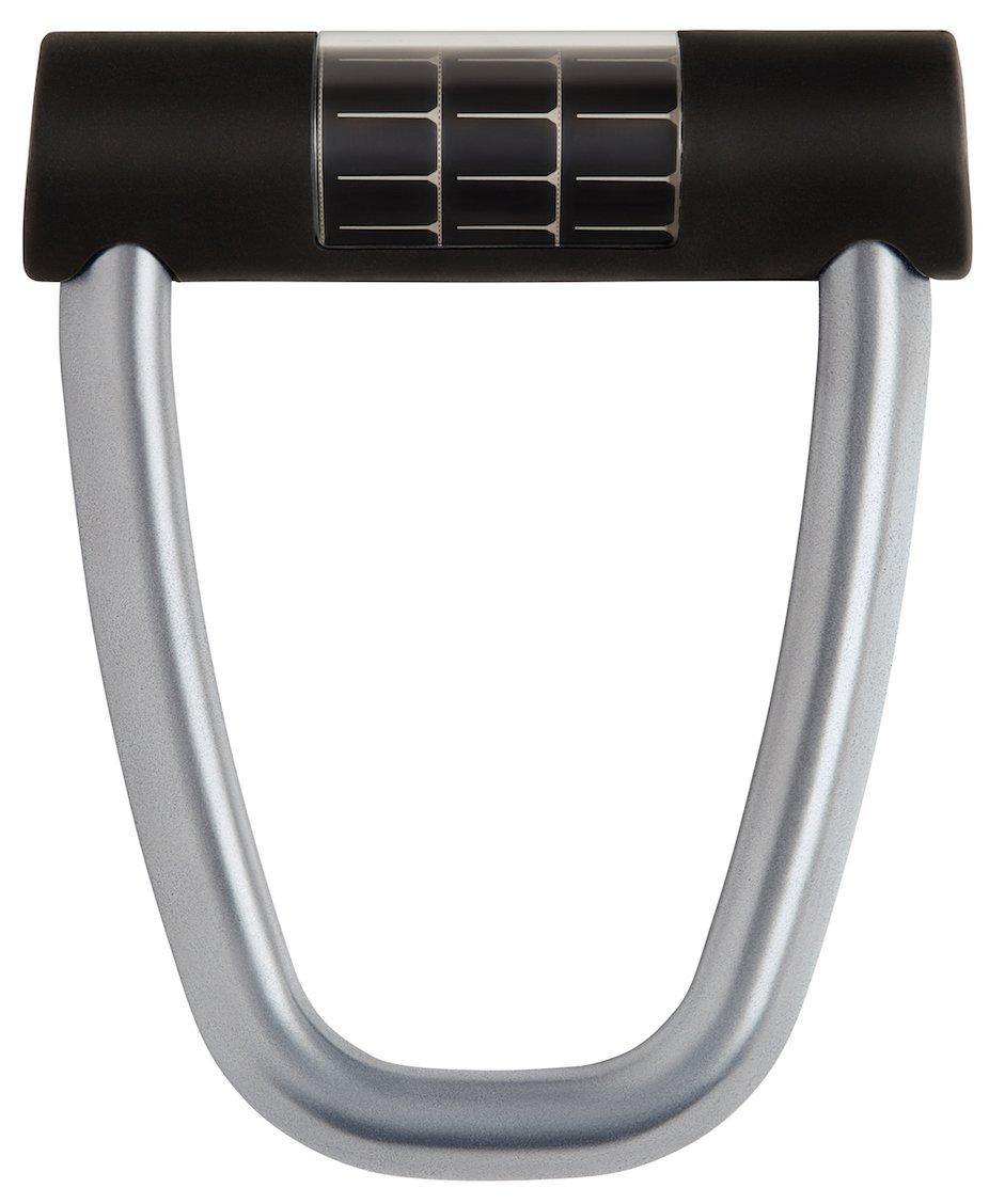 Lattis Ellipse Keyless Smart Bike Lock With Theft Detection, Charcoal Grey