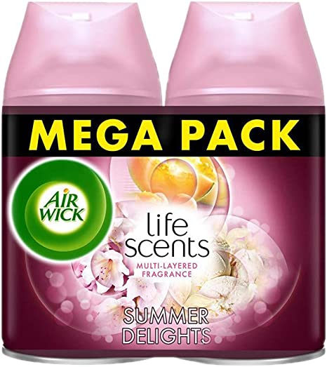 air wick freshmatic max life scents délices d'été