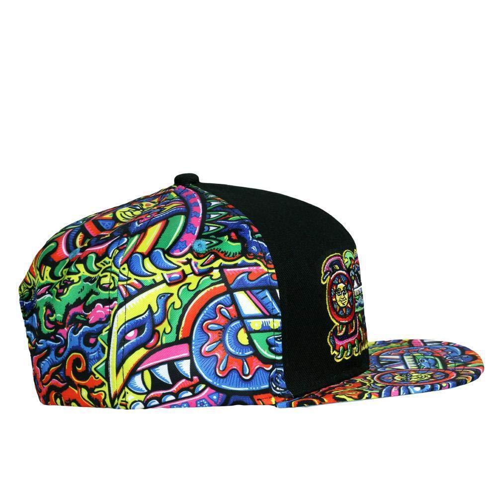 0dd94f096 Chris Dyer Rainbow Serpent Red Snapback Hat at Amazon Men's Clothing ...