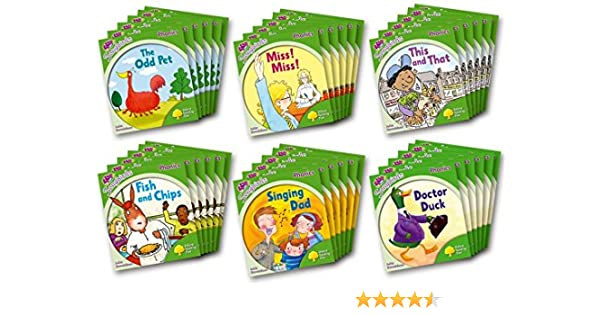 Oxford Reading Tree Songbirds Phonics: Level 2: Class Pack of 36 ...